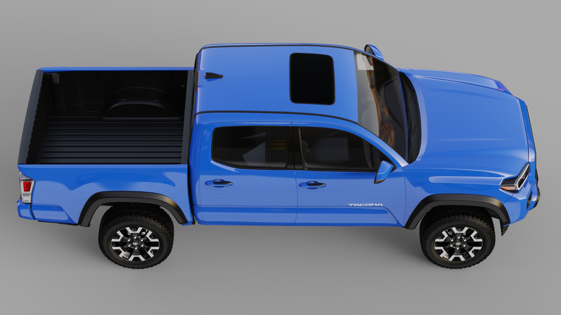 丰田Tacoma  2020款丰田Tacoma皮卡车3D模型